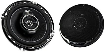 Kenwood KFC-1695PS 6.5-Inch 3-Way Flush Mount Coaxial Car Speakers