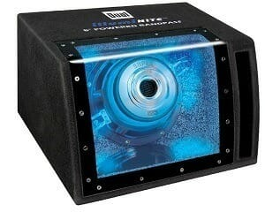 Dual Electronics SBP8A Powered Enclosed Subwoofer