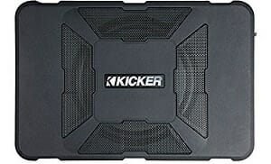 Kicker 11HS8 150W Hideaway Car Audio Powered Subwoofer Sub Enclosure