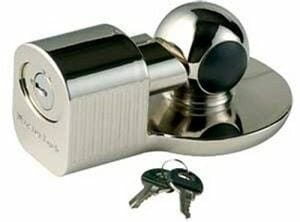 Master Lock 377KA Trailer Coupler Lock