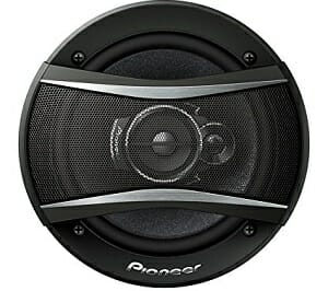 "Pioneer TS-A1676R 320W 6.5"" 3-Way TSA Series Coaxial Car Speakers"