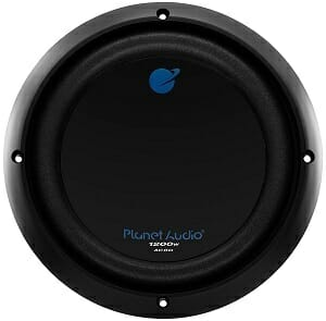 Planet Audio AC8D 8-Inch Car Subwoofe