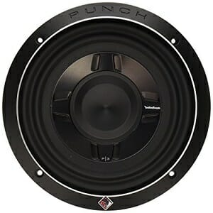 Rockford Fosgate P3SD2-8 8-Inch Shallow Mount Car Subwoofer