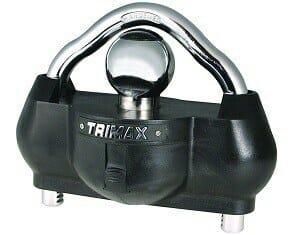 Trimax UMAX100 Premium Universal Hardened Steel Trailer Lock