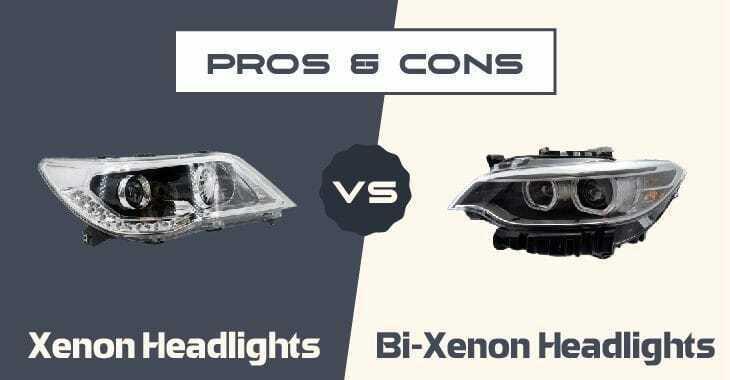Xenon Headlights vs Bi-Xenon Headlights