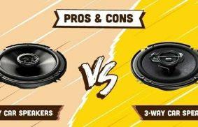 2-way Car Speakers vs 3-way Car Speakers