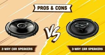 2-way Car Speakers vs 3-way Car Speakers