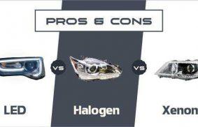LED vs Halogen vs Xenon