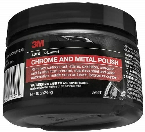 3M 39527 Chrome & Metal Polish