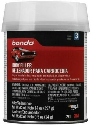 3M Bondo 261 Lightweight Car Body Filler