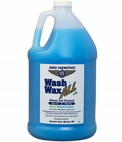 Aero Cosmetics Waterless Wash And Wax
