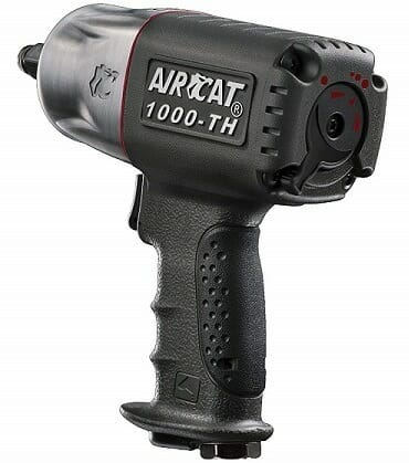 AirCat 1000-TH Air Impact Wrench with Twin Hammer Mechanism