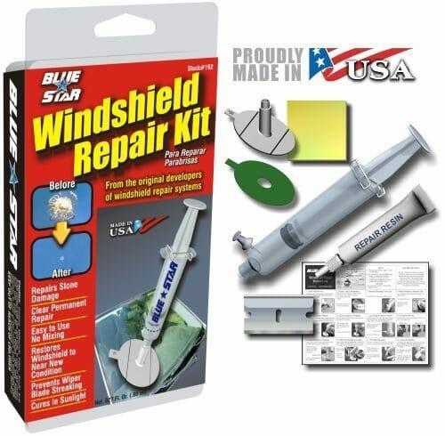 Blue Star Windshield Repair Kit