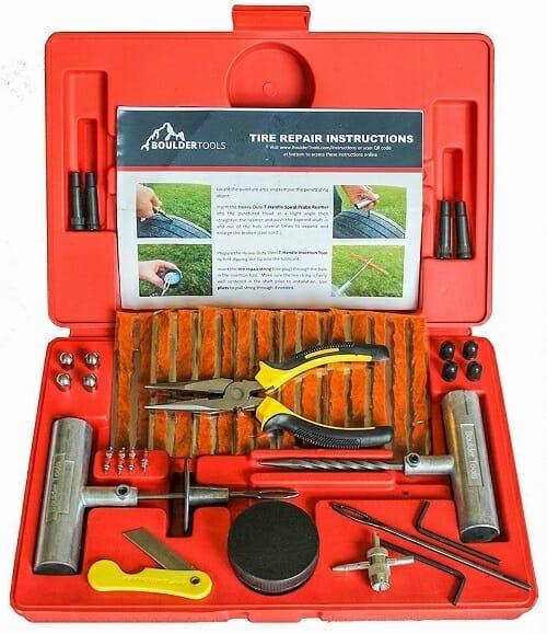 Boulder Tools Heavy Duty Tire Repair Kit