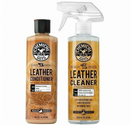 Chemical Guys Leather Cleaner and Conditioner