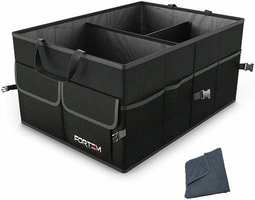 Fortem Auto Durable Collapsible Trunk Organizer