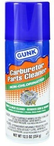 Gunk M4815NC 12.5-Oz Non-Chlorinated Carburetor Cleaner