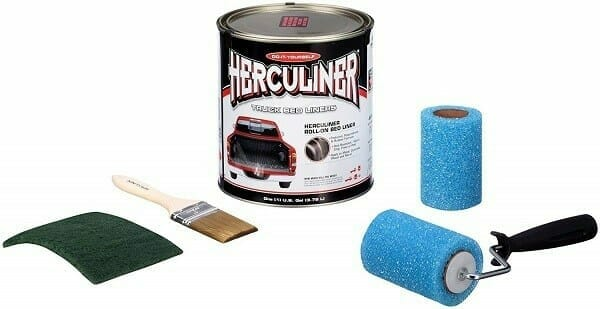 Herculiner HCL1B8 Brush-On Bed Liner Kit