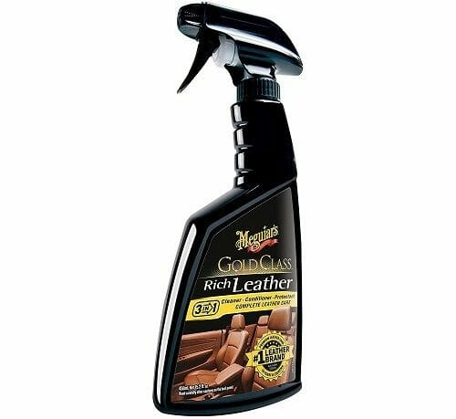 Meguiar's G10916 Gold Class Rich Leather Cleaner and Conditioner
