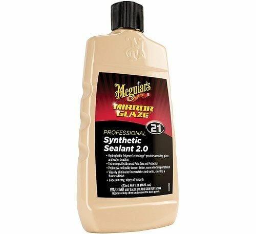 Meguiar's M21 Mirror Synthetic Paint Sealant