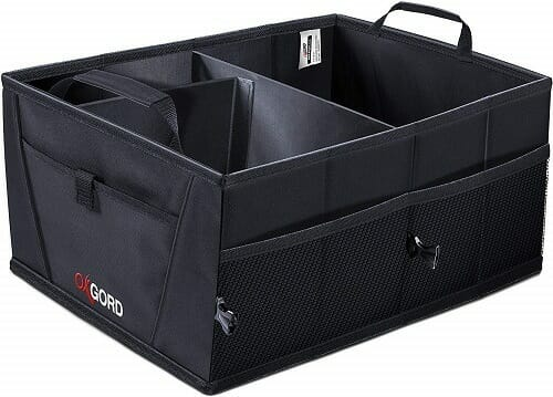 OxGord Auto Trunk Organizer with Pocket