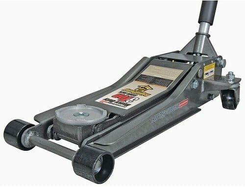 Pittsburgh Automotive 3-ton Floor Jack with Rapid Pump Quick Lift