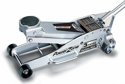 Powerzone 380044 Aluminum and Steel Garage Floor Jack