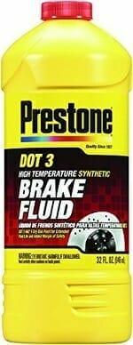 Prestone AS401 DOT 3 Synthetic Brake Fluid