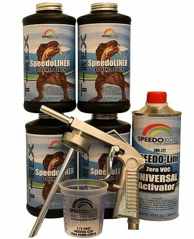 Speedokote T-Rex SMR-1000-K4 Spray In Bedliner