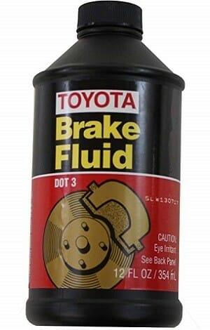 Toyota Genuine Fluid 00475-1BF03 Brake Fluid