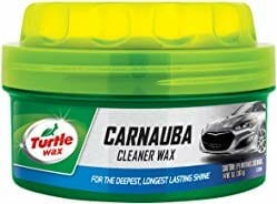 Turtle Wax T-5A Carnauba Paste Cleaner