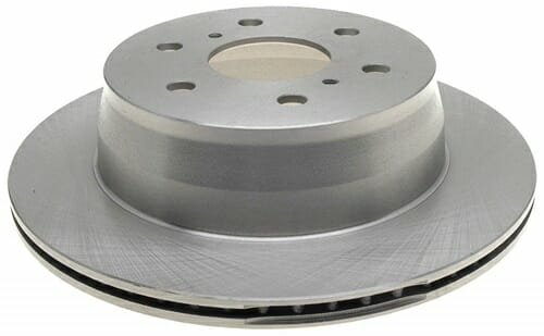 ACDelco 18A2332A Non-Coated Rear Brake Rotor