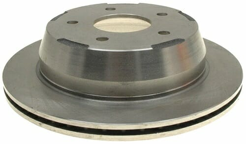 ACDelco 18A876A Non-Coated Rear Brake Rotor
