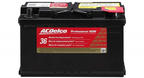ACDelco 94RAGM Professional Car AGM Battery