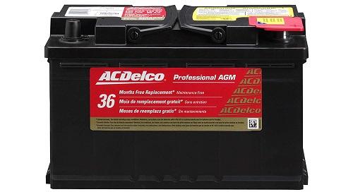 ACDelco 94RAGM Professional Car AGM Battery
