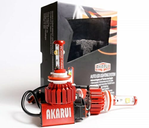 Akarui LED Headlight Bulbs Plus Kit