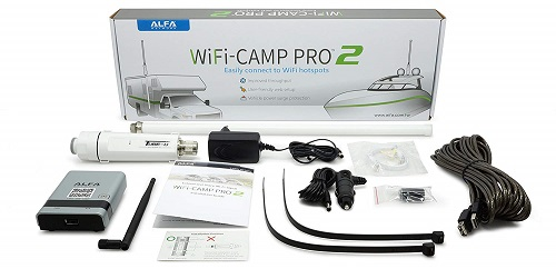 Alfa Wi-Fi Camp Pro long-range Wi-Fi Booster