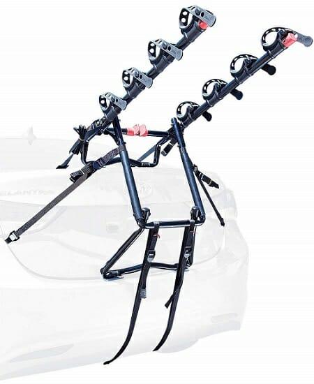 Allen Sports S-104 Trunk Mounted Bike Rack