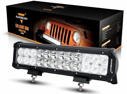 10 best atv led light bars reviews buying guide auxbeam 12 inch atv led light bar aloadofball Choice Image