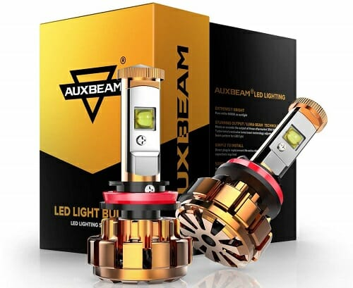 Auxbeam H11 F-16 Series LED Headlight Bulbs
