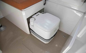 Cassette RV toilets