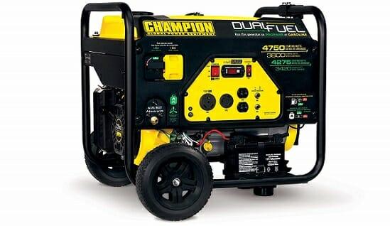 Champion Power Equipment 3800W RV Generator With Electric Start
