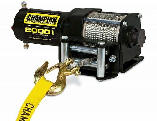 Champion Power Equipment ATV/UTV Winch Kit