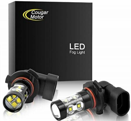 Cougar Motor 60,000-Hour Fog Light Bulbs