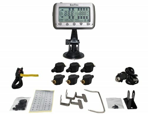 EEZTire 6 Sensors Tire Pressure Monitoring System