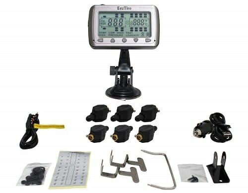 EEZTire 6 Sensors Tire Pressure Monitoring System
