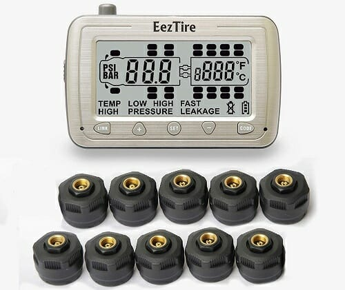 EEZTire EEZ-RV-TPMS10 Tire Pressure Monitoring System