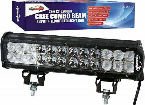 EPAuto 12-Inch ATV LED Combo Light Bar