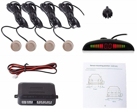Ekylin 4 Sensors Car Parking System