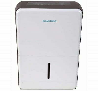 Keystone KSTAD50B 50-Pint Portable Dehumidifier for RV